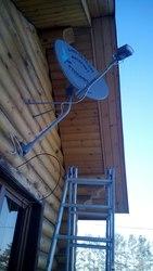 Спутниковый интернет с гарантированной скоростью от 15 до 40 Мбит/с